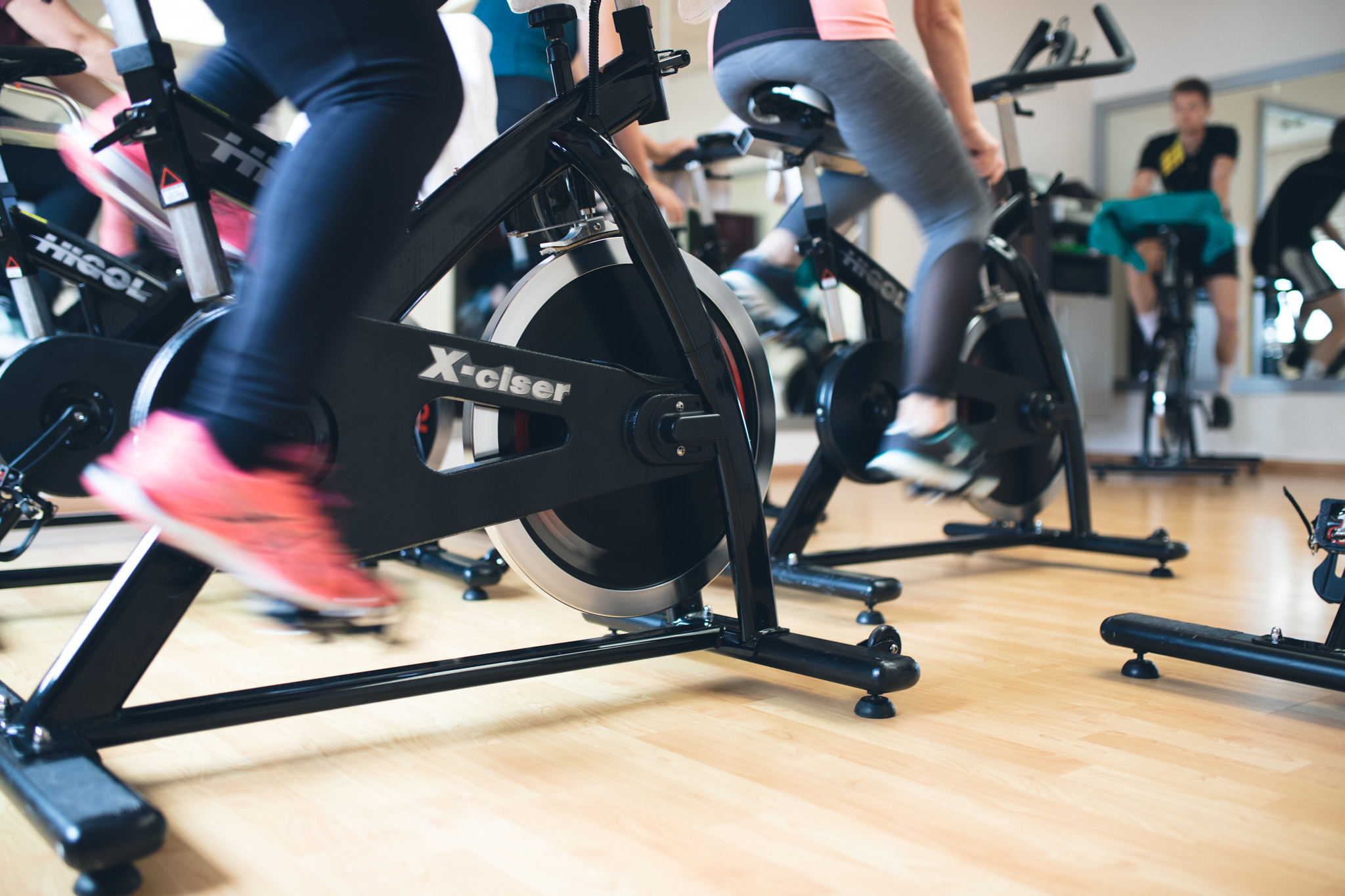 Indoor Cycling groepsles
